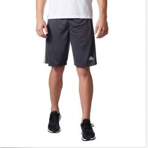 adidas Shorts - Adidas Men's Climalite Performance 3-Stripe Traini